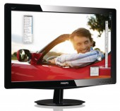 "Монитор Philips 21.5"" 226V3LAB5/01 Glossy-Black TN LED 5ms 16:9 DVI"